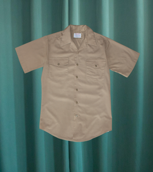 Vintage beige shirt from the US NAVY