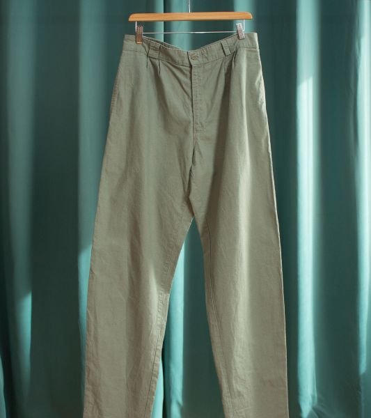 Levi's water green vintage pleated pants