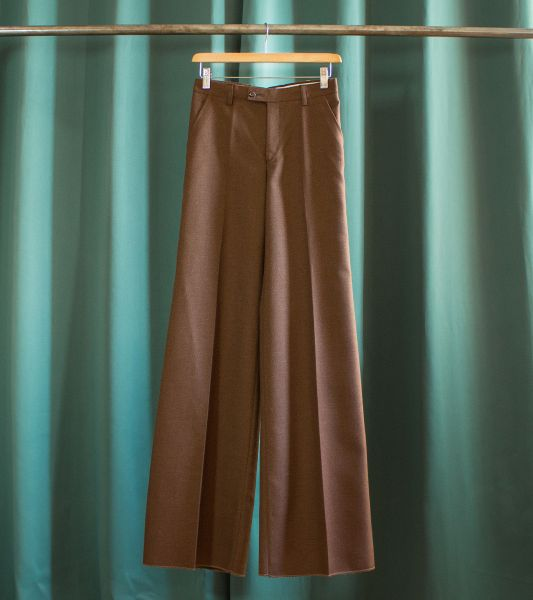 Vintage flared brown pants from the 70's