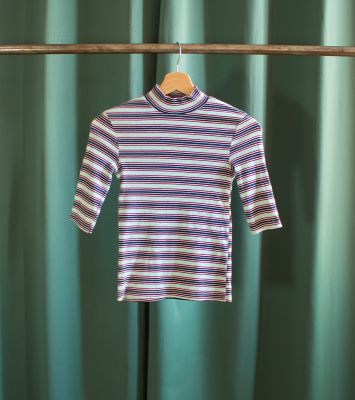 Striped vintage tight top